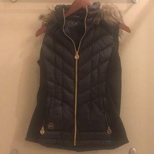Michael Kors vest with hood